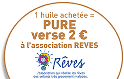 pure s'engage pour l'association Rêves