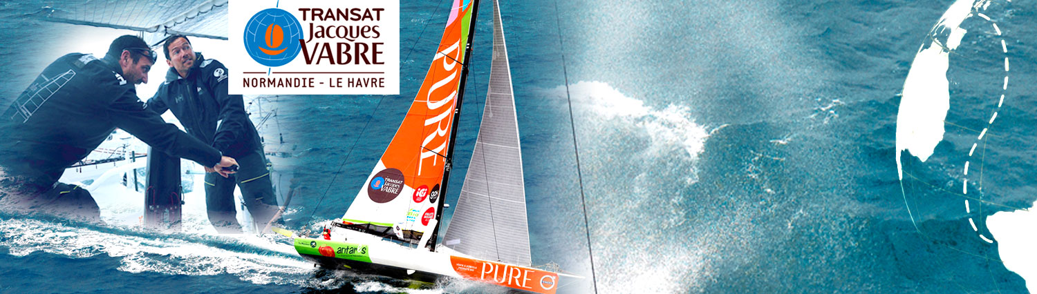 Transat Jacques vabre Romain Attanasio PURE
