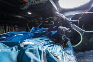Romain Attanasio sur la route du rhum 2018